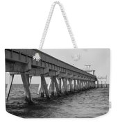 Deerfield Beach Pier Weekender Tote Bag