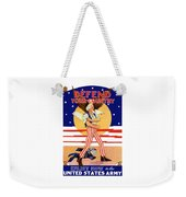 Defend Your Country Enlist Now  Weekender Tote Bag