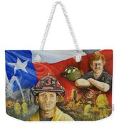 Defending Texas Weekender Tote Bag