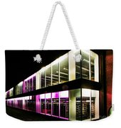 Defiance College Library Night Time Weekender Tote Bag
