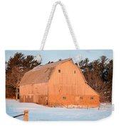 Defunct Winter Weekender Tote Bag