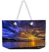 Deganwy Sunset Weekender Tote Bag