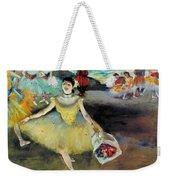 Degas: Dancer, 1878 Weekender Tote Bag