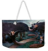 Degouve: Angels, 1894 Weekender Tote Bag