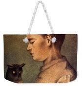Degouve: Child & Owl, 1892 Weekender Tote Bag