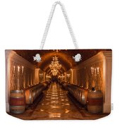 Del Dotto Wine Cellar Weekender Tote Bag by Scott Campbell