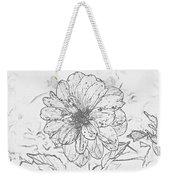 Lush Blossom Weekender Tote Bag