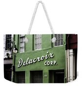 Delacroix Corp., New Orleans, Louisiana Weekender Tote Bag