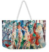 Delaunay: City Of Paris Weekender Tote Bag