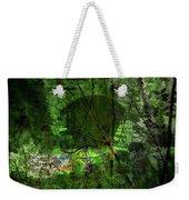 Delaware Green Weekender Tote Bag by Richard Ricci
