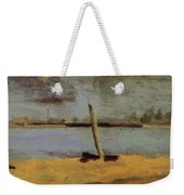 Delaware Riverscape From Gloucester Weekender Tote Bag