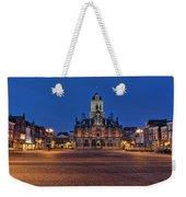 Delft Blue Weekender Tote Bag