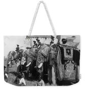 Delhi: Elephants Weekender Tote Bag
