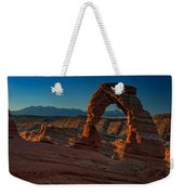 Delicate Arch At Sunrise Weekender Tote Bag