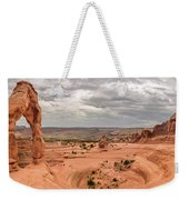 Delicate Arch Panoramic Weekender Tote Bag