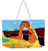 Delicate Arch Utah - Pop Art Weekender Tote Bag