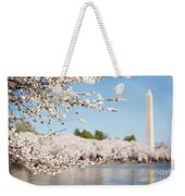 Delicate Blossoms Over The Tidal Basin Weekender Tote Bag
