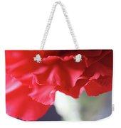 Delicate Carnation  Weekender Tote Bag
