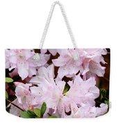 Delicate Pink Azaleas Weekender Tote Bag
