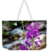 Delicate Purple Weekender Tote Bag