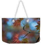 Delicate Signs Of Autumn Weekender Tote Bag