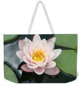 Delicate Waterlily Weekender Tote Bag