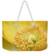 Delicate Yellow Poppy Weekender Tote Bag
