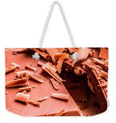 Delicious Bars And Chocolate Chips  Weekender Tote Bag