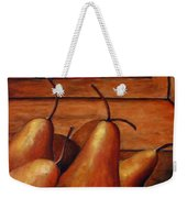 Delicious Pears Weekender Tote Bag