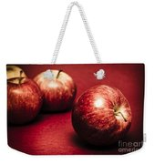 Delicious Red Weekender Tote Bag