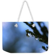 Delighted By Droplets Weekender Tote Bag