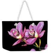 Delightful Orchid Weekender Tote Bag