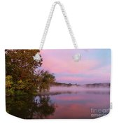 Delightfully Pink Morning Weekender Tote Bag