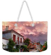 Delphi Greece Sunset Weekender Tote Bag
