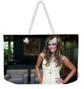 Delta Goodrem Weekender Tote Bag