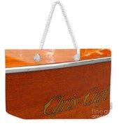 Chris Craft Deluxe Weekender Tote Bag