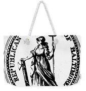 Democratic-republican Party Weekender Tote Bag