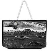 Demolition Derby Rain Storm Clouds #1 Tucson Arizona 1968 Weekender Tote Bag