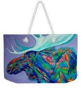 Denali Moose Head Weekender Tote Bag