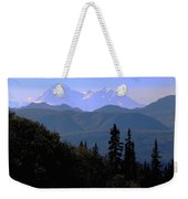 Denali Mountain Weekender Tote Bag