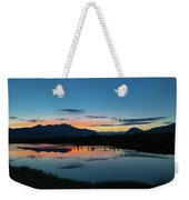 Denali Reflection Lake Weekender Tote Bag