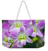 Dendrobium Orchids Weekender Tote Bag