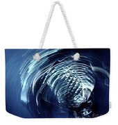 Denim And Light  Abstract 1 Weekender Tote Bag