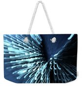 Denim And Light  Abstract 2 Weekender Tote Bag