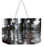 Denmark Abstract Of Glass Chess Set Weekender Tote Bag