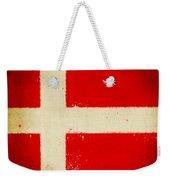 Denmark Flag Weekender Tote Bag by Setsiri Silapasuwanchai