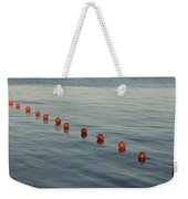 Denmark Red Safety Balls Floating Weekender Tote Bag