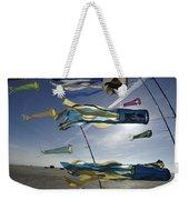 Denmark, Romo, Kites Flying At Beach Weekender Tote Bag