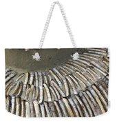 Denmark, Romo, Seashells, Razor Clams Weekender Tote Bag