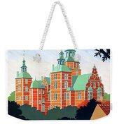 Denmark, Rosenborg Castle, Vintage Travel Poster Weekender Tote Bag